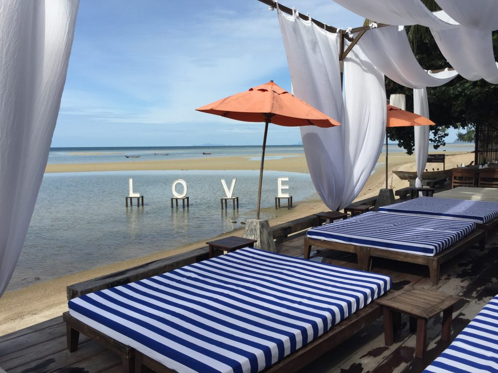 Love at Chantramas hotel, Thailand